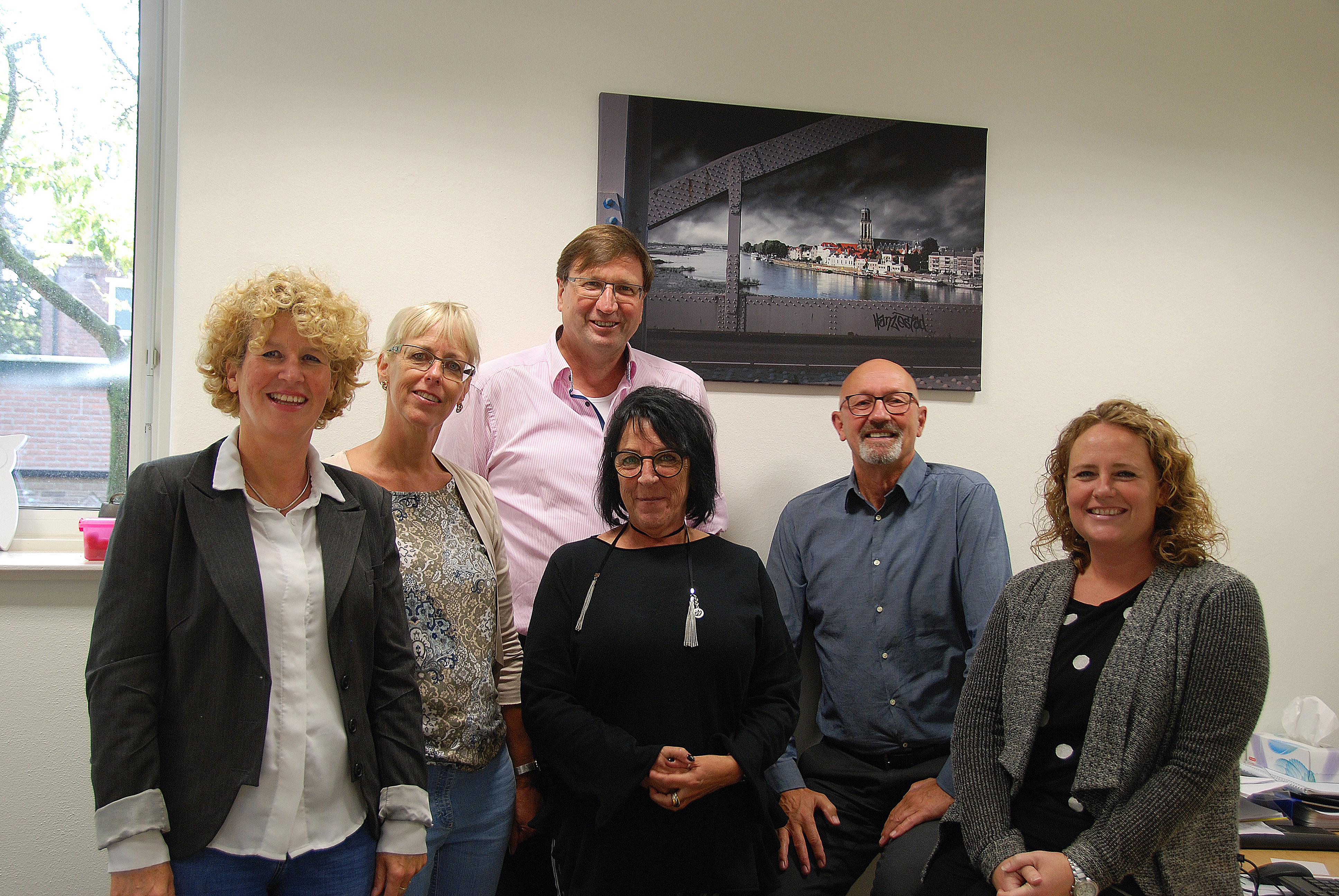 Duitse directeuren bezoeken Kindcentrum Het Palet.
