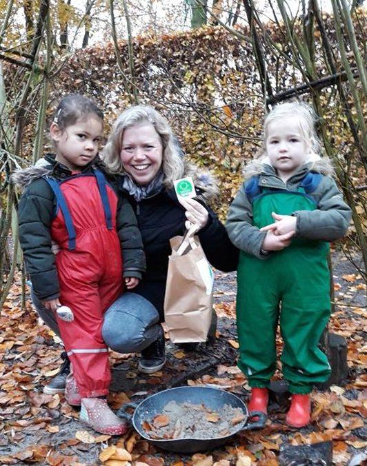 Sam&pluk en Sam&michiel behalen opnieuw Kwaliteitsmerk groene kinderopvang