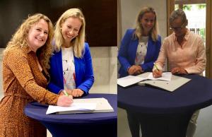 Ondertekening convenant Jonge Kind & VVE 2019-2022 2