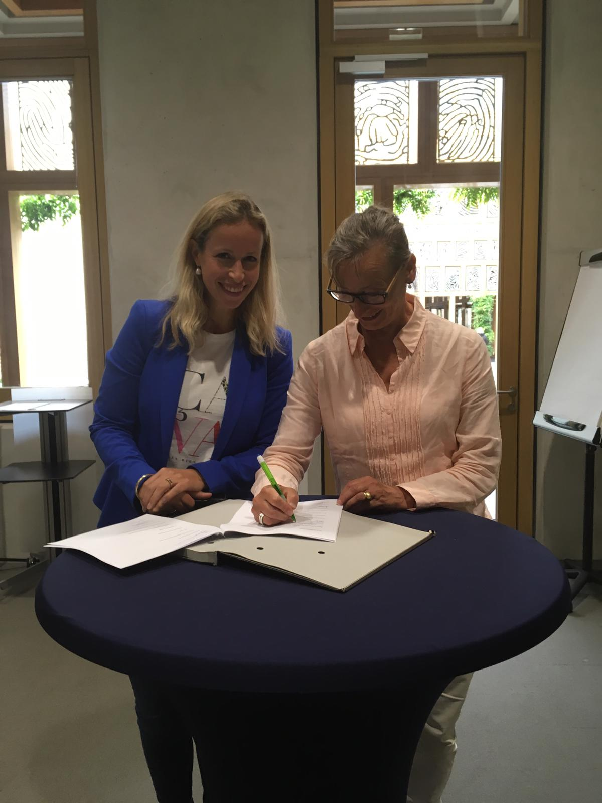 Ondertekening convenant Jonge Kind & VVE 2019-2022